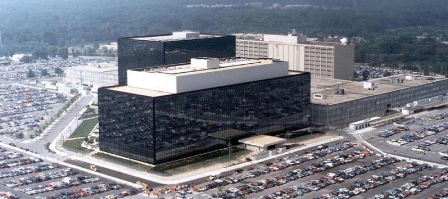 Fotografía sin fechar cedida por la Agencia Nacional (NSA) que muestra la sede de la NSA en Fort Meade, Maryland