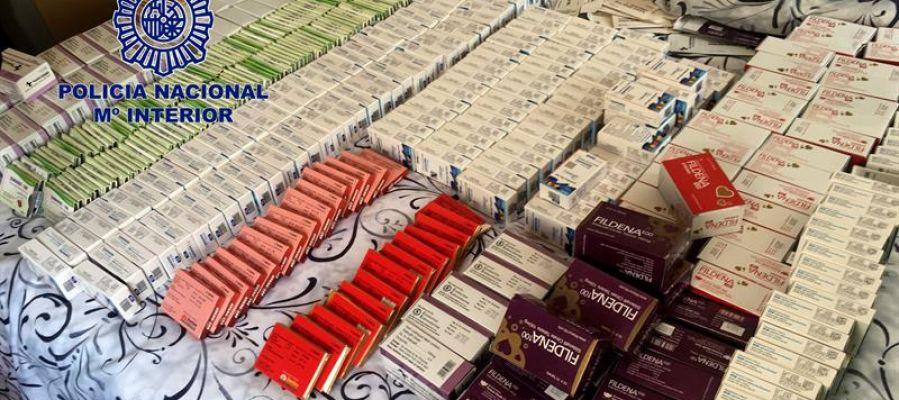 Cae la mayor red de venta ilegal de medicamentos por internet