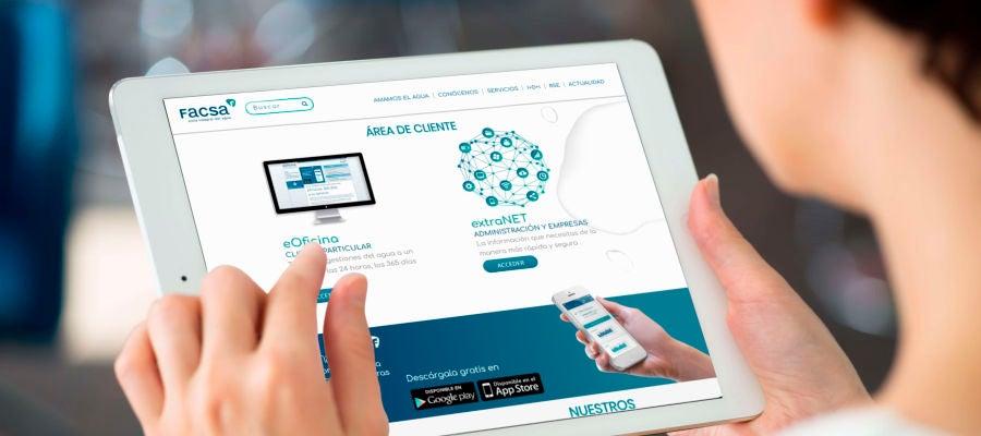 Nueva imagen de la web de FACSA.