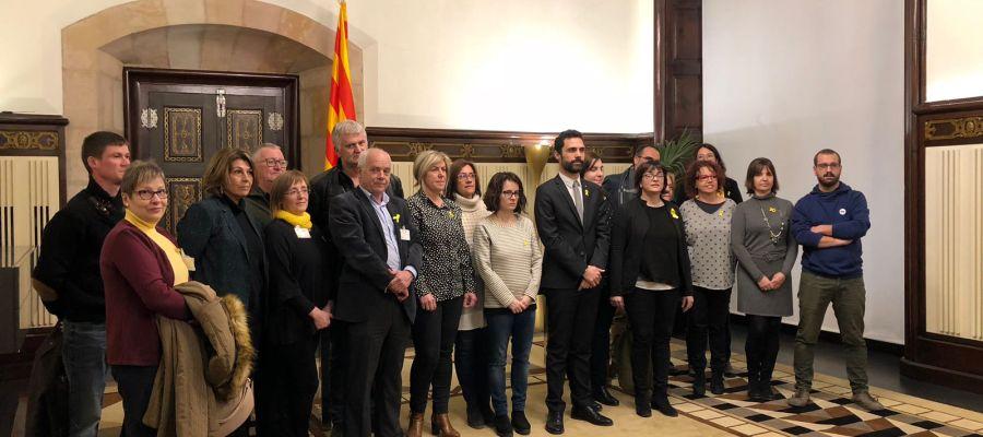 JxCat, ERC y la CUP intensifican sus reuniones