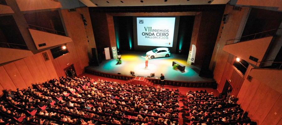 Celebración de la gala de entrega de los VII Premios Onda Cero Mallorca en el Auditorium de Palma.