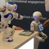 Así son los robots que han enamorado al MWC 2018