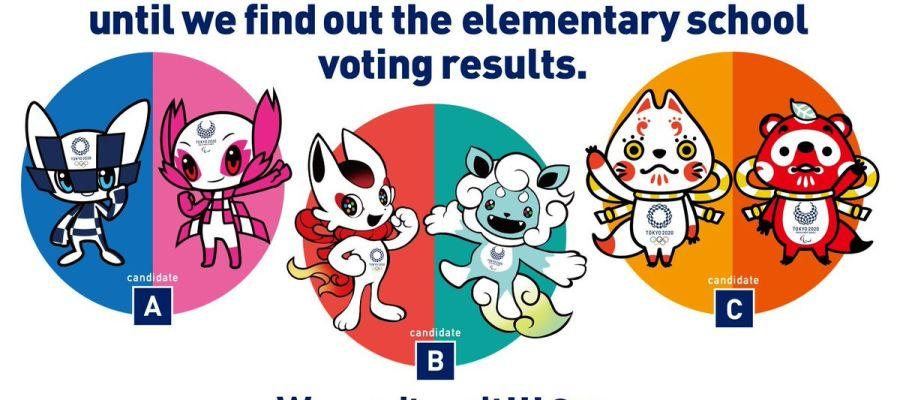 Las mascotas candidatas a ser las elegidas para los Juegos de Tokio