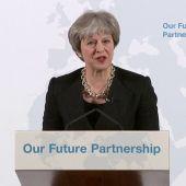 Theresa May presenta sus cinco líneas rojas sobre el 'Brexit'