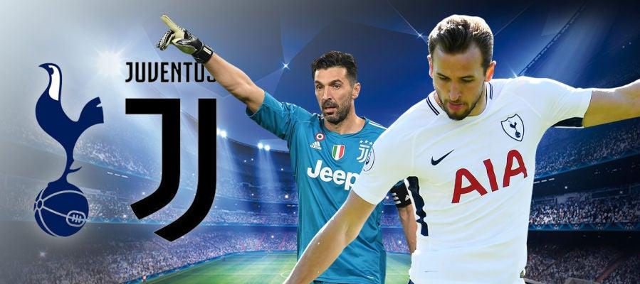 Juventus - Tottenham, vuelta de octavos de final de la Champions