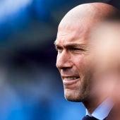 Zinedine Zidane, en Ipurúa