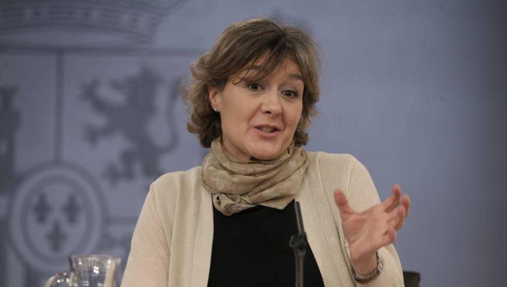 La ministra de Agricultura, Isabel García Tejerina