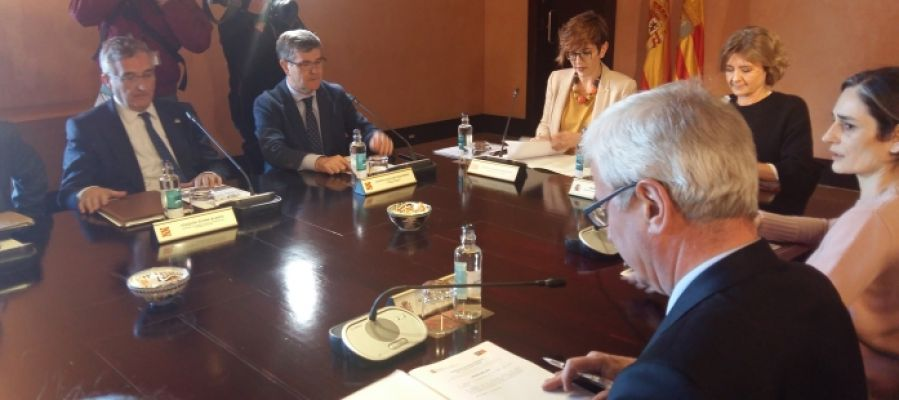 Reunión Comisión Pacto del Agua