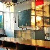 Las aulas esperan a los nuevos alumnos