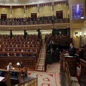 Rajoy en el pleno monográfico sobre pensiones