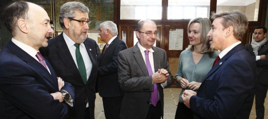 El presidente, Javier Lambán