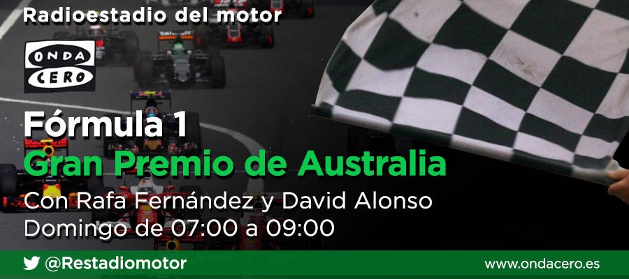Radioestadio del motor: GP de Australia de F1