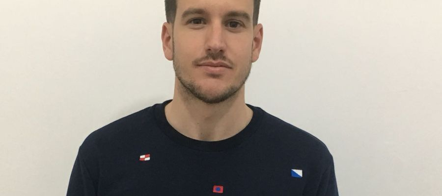 Sergi Guilló, excapitán del Ilicitano y entrenador de la cantera del Elche CF.