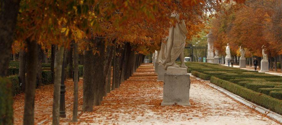 Vista del parque madrileño de El Retiro