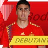 El centrocampista, Rodri Hernández.
