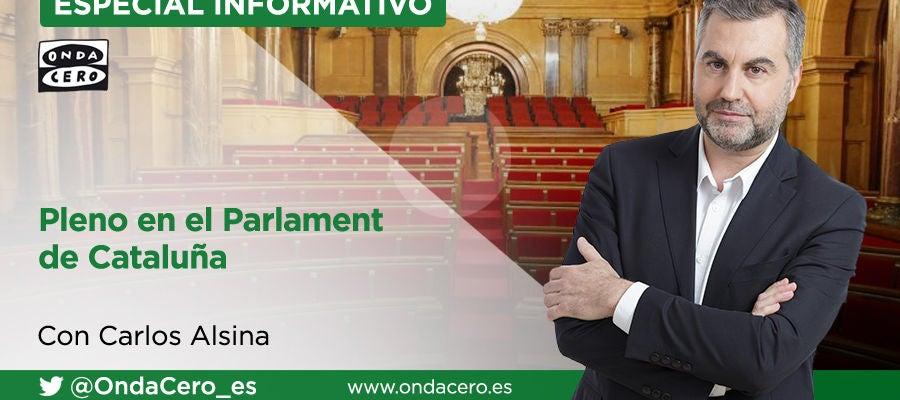 Especial Informativo: Pleno en el Parlament de Cataluña