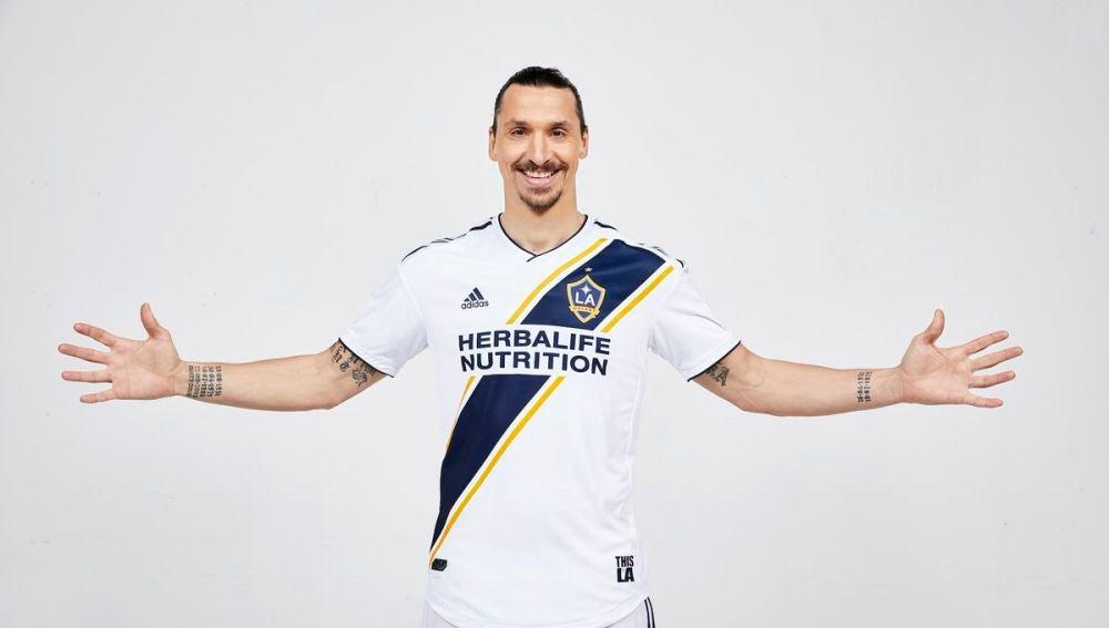 Zlatan Ibrahimovic en Los Ángeles Galaxy