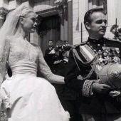 Grace Kelly y Raniero