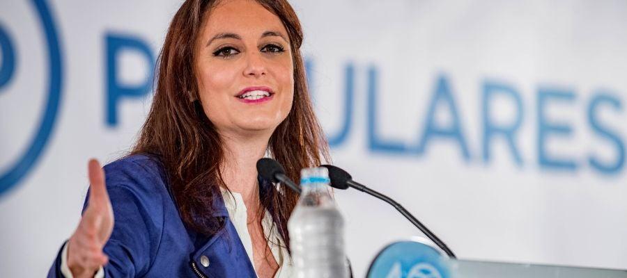 La vicesecretaria de Estudios y Programas del Partido Popular, Andrea Levy.