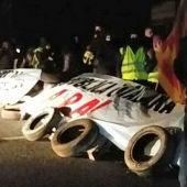 Manifestantes independentistas cortan la AP-7 en ambos sentidos a la altura de Figueres