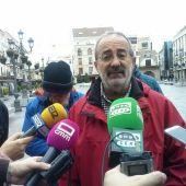 Augusto Serrano, portavoz de la Coordinadora de Pensionitas de Ciudad Real