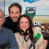 Ruth Iniesta, José Manuel Zapata y Juan Ramón Lucas en Más de uno