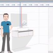Dos fontaneros inventan un dispositivo que ahorra 500 euros en agua al año