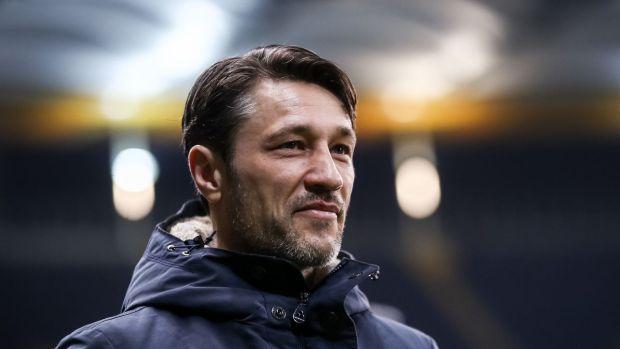 Niko Kovac, entrenador del Eintracht de Frankfurt.