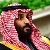 Imagen de archivo del príncipe heredero saudí