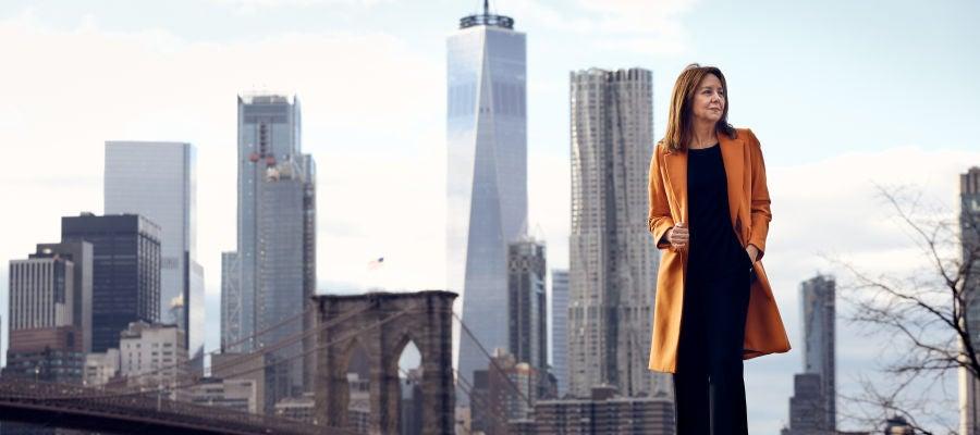 María Dueñas, en Nueva York