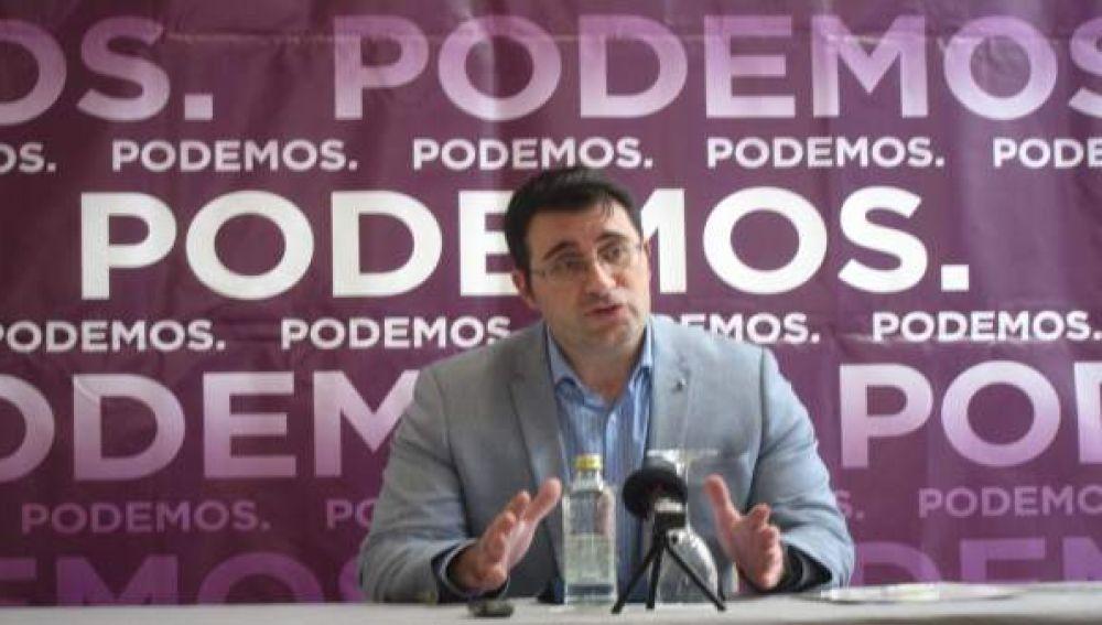 Juan Merlo, secretario de Organización de Podemos en Galicia y diputado de En Marea