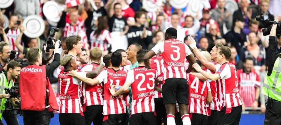 El PSV celebra la Eredivisie