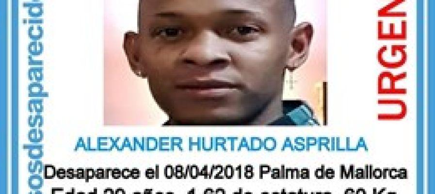 Cartel del hombre desaparecido en Palma
