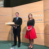 Imagen de archivo: el presidente de la Generalitat, Ximo Puig, y la alcaldesa de Castellón, Amparo Marco.