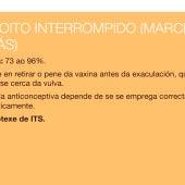 Imagen del folleto de la Xunta