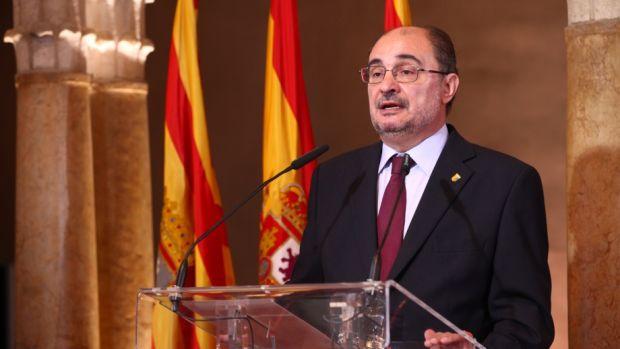 """Javier Lambán: """"Por mis conversaciones con Pedro Sánchez, estoy convencido de que no indultaría a los independentistas"""""""