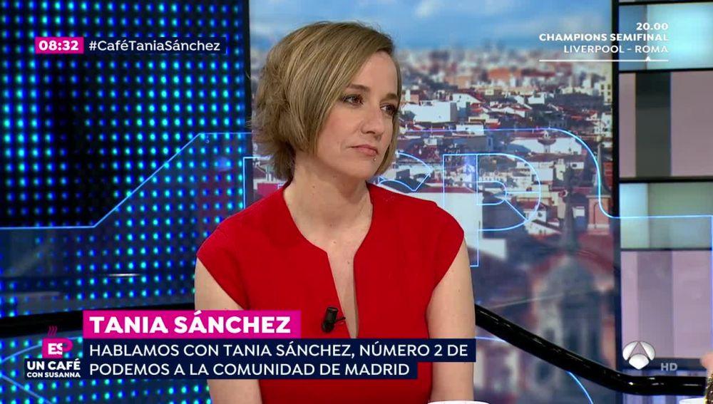 Un café con Susanna: Tania Sánchez (24-04-18)