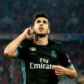 Asensio, tras hacer el segundo del Real Madrid