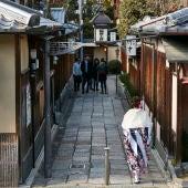 Maiko en Kioto
