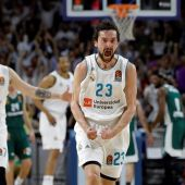 Sergio Llull reaparece para ser decisivo ante Panathinaikos
