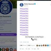 El tuit de la Policía Nacional tras la sentencia a La Manada