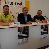 El regidor d'Esports, Javier Serralvo, i els organitzadors de l'esdeveniment, José Palomero i Juanjo Nares, han presentat aquesta nova edició de la cita.