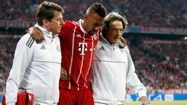 El defensa del Bayern, Boateng.