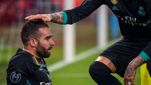 Carvajal está descartado para la vuelta ante el Bayern y llegaría para una hipotética final