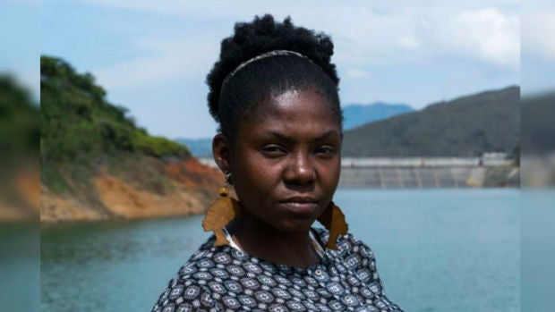 Francia, la colombiana que a pesar de las amenazas de muerte lucha para proteger el medio ambiente