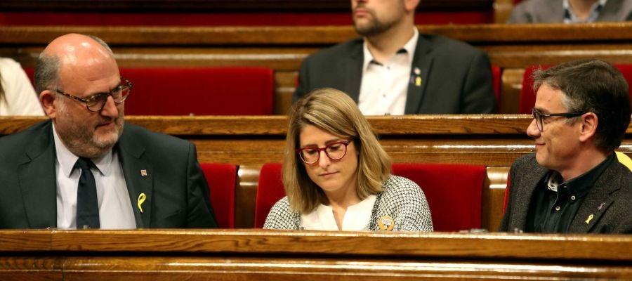 La portavoz de ERC en el Parlament, Elsa Artadi
