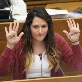 Marian Campello, diputada de Compromís en el Parlamento valenciano