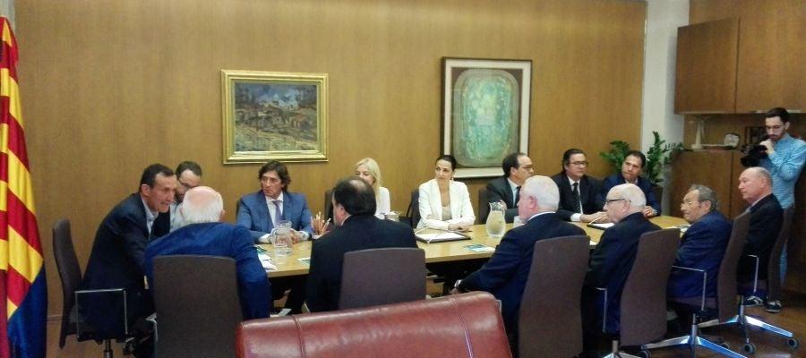 Miembros de la Junta Directiva de CEDELCO han sido recibidos por el alcalde de Elche