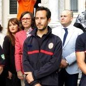 Manuel Blanco, Julio Latorre y José Enrique Rodríguez, los tres bomberos acusados de tráfico de personas