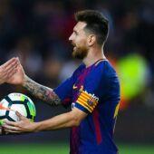 Hernández Hernández y Leo Messi.